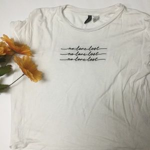 Adorable No Love Lost Tee